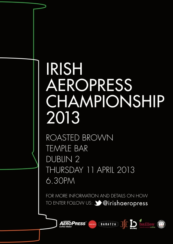 Irish Aeropress Championship 2013 Poster copy