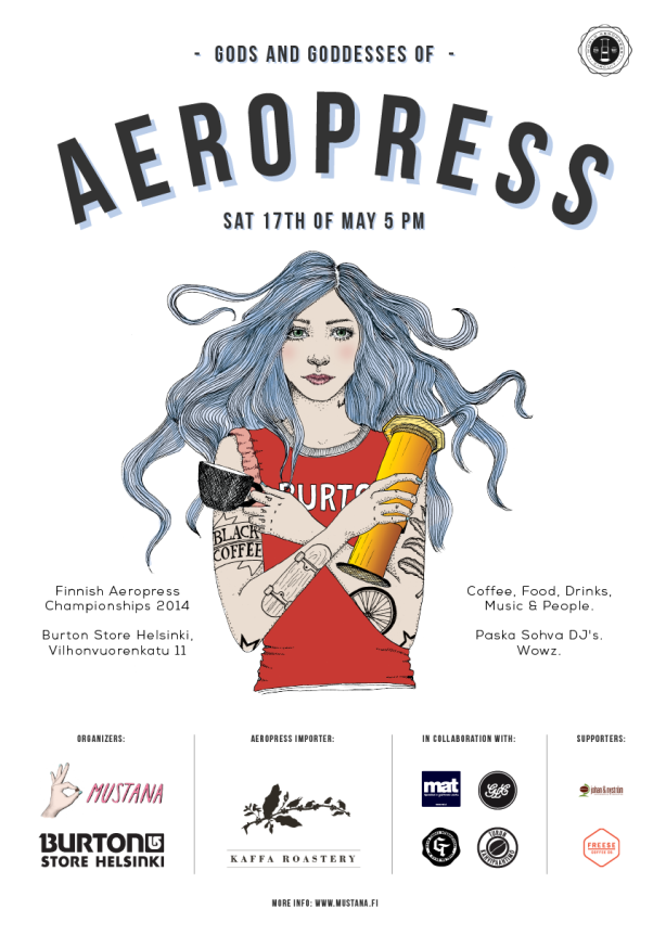Aeropress SM 2014_Juliste